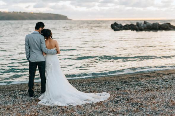 Позитивная семейная свадьба в Италии - фото №114