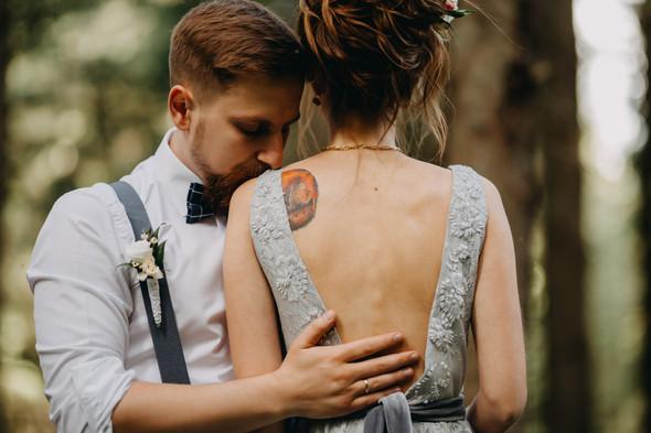 Лесная свадьба в Карпатах - фото №32