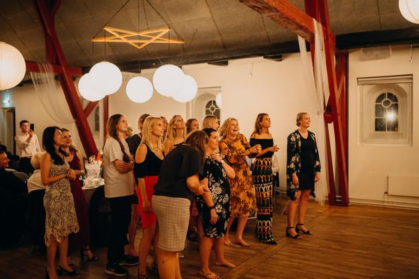 Атмосферная датская свадьба - фото №171