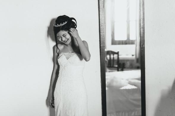 Позитивная семейная свадьба в Италии - фото №50