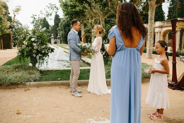 Испанская семейная свадьба на вилле недалеко от Барселоны - фото №32