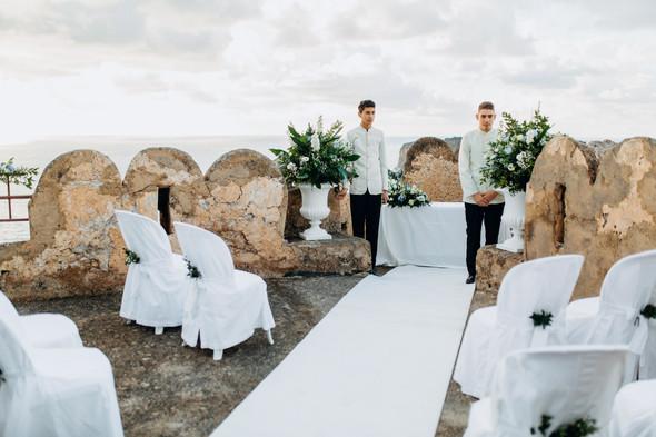 Позитивная семейная свадьба в Италии - фото №54