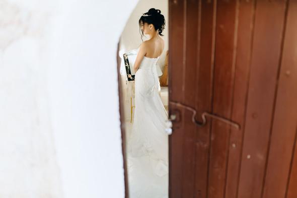 Позитивная семейная свадьба в Италии - фото №45