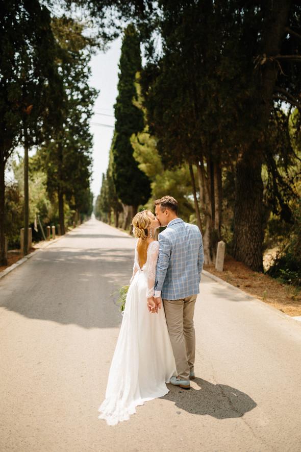 Испанская семейная свадьба на вилле недалеко от Барселоны - фото №70