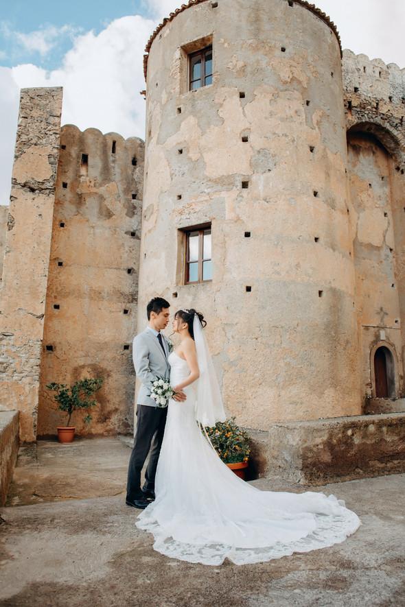 Позитивная семейная свадьба в Италии - фото №96