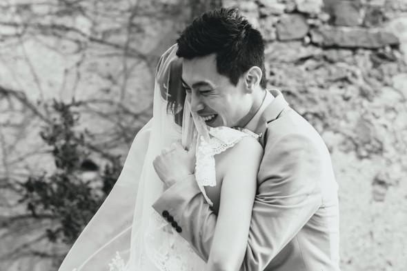 Позитивная семейная свадьба в Италии - фото №93