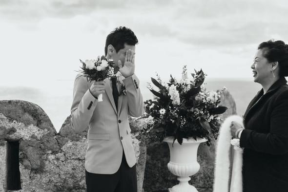 Позитивная семейная свадьба в Италии - фото №62
