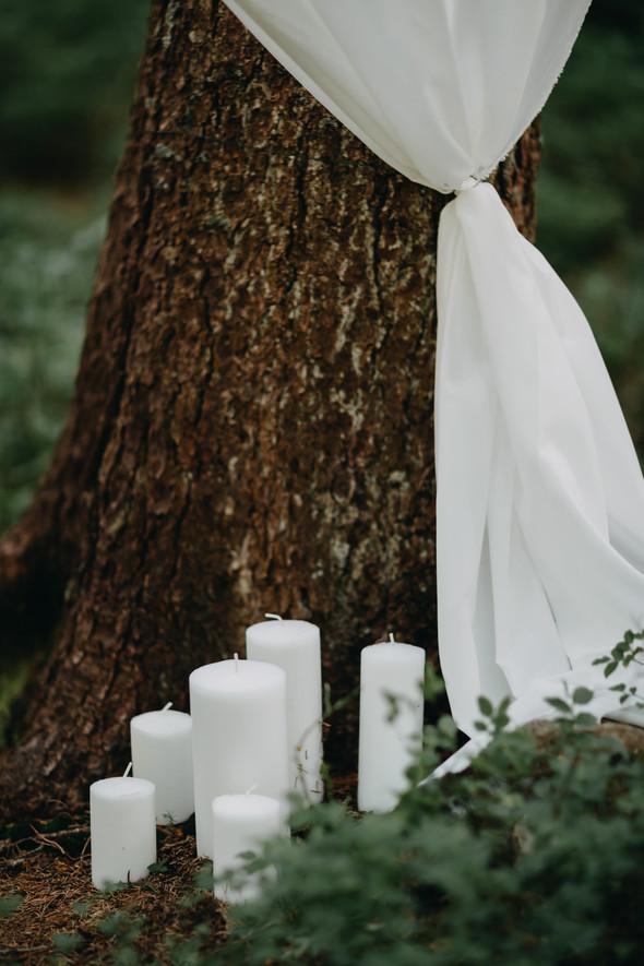 Лесная свадьба в Карпатах - фото №8