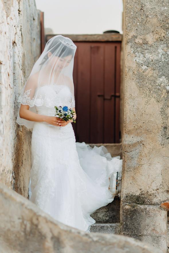 Позитивная семейная свадьба в Италии - фото №64