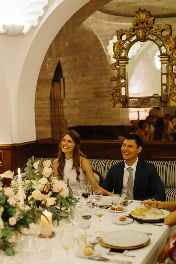 Красивая испанская свадьба на побережье - фото №100