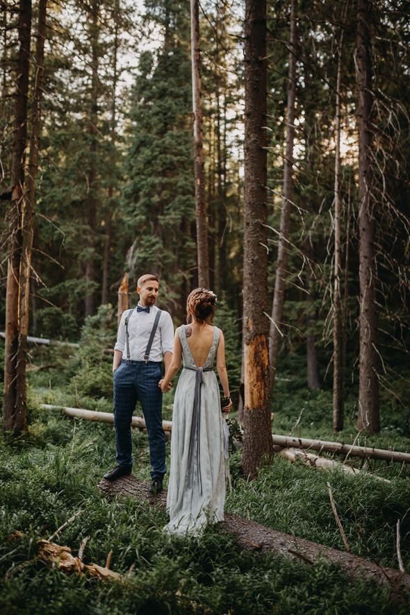 Лесная свадьба в Карпатах - фото №45