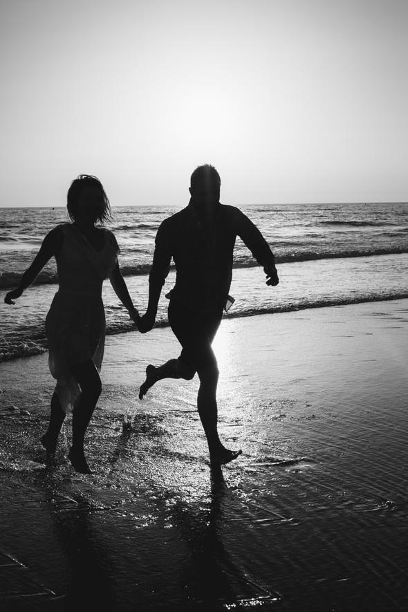 Пляжная послесвадебная съемка и Испании - фото №34