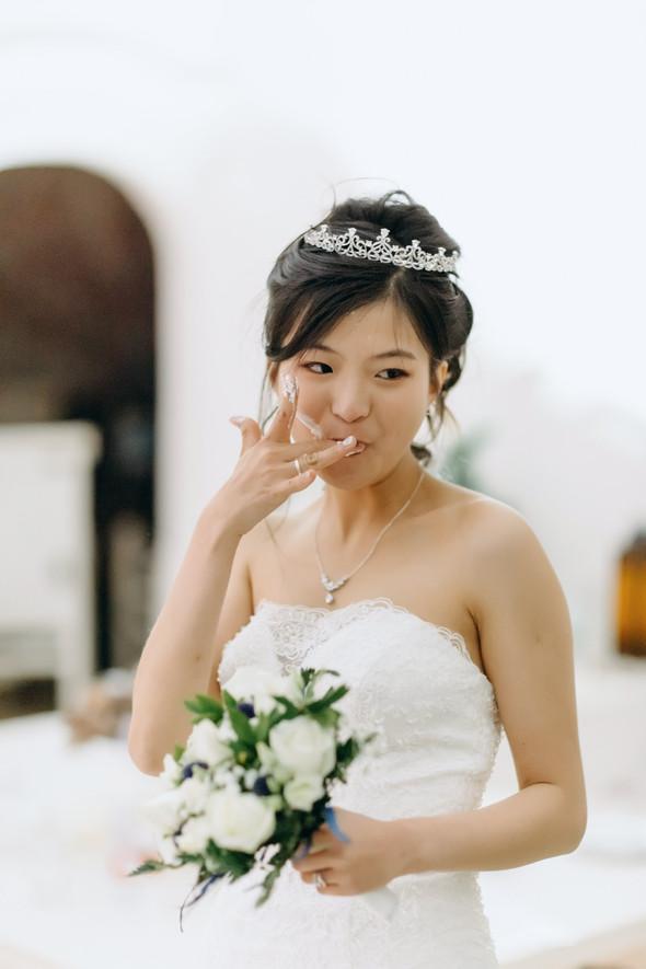 Позитивная семейная свадьба в Италии - фото №131