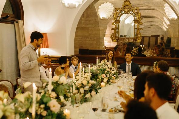 Красивая испанская свадьба на побережье - фото №101