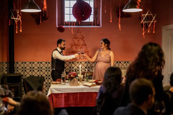 Уютная свадьба в Салерно - фото №119
