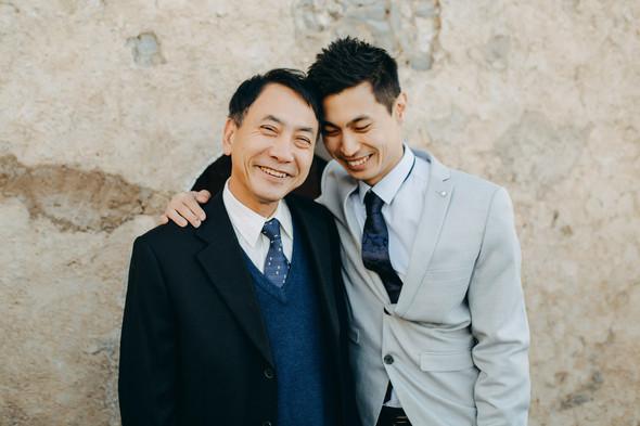 Позитивная семейная свадьба в Италии - фото №49