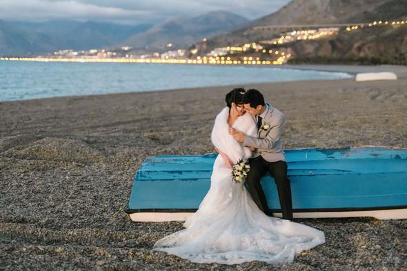 Позитивная семейная свадьба в Италии - фото №118