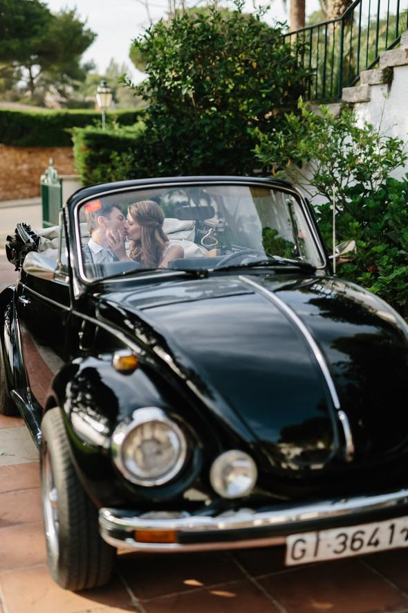 Красивая испанская свадьба на побережье - фото №71