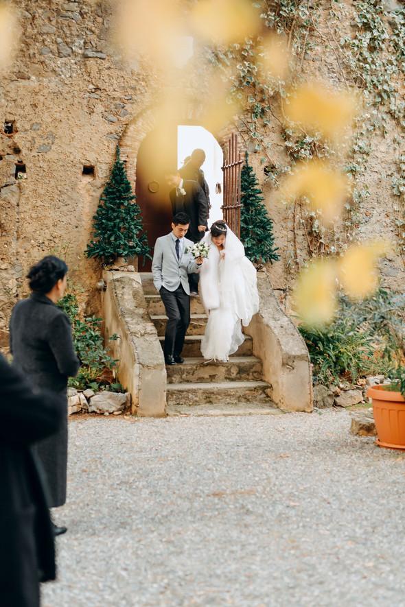 Позитивная семейная свадьба в Италии - фото №98