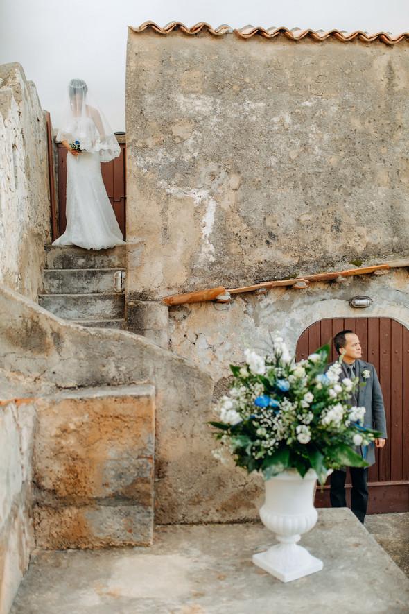 Позитивная семейная свадьба в Италии - фото №61