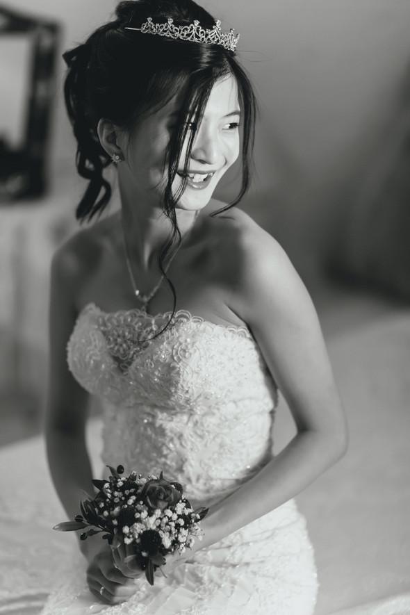 Позитивная семейная свадьба в Италии - фото №52