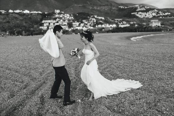 Позитивная семейная свадьба в Италии - фото №117