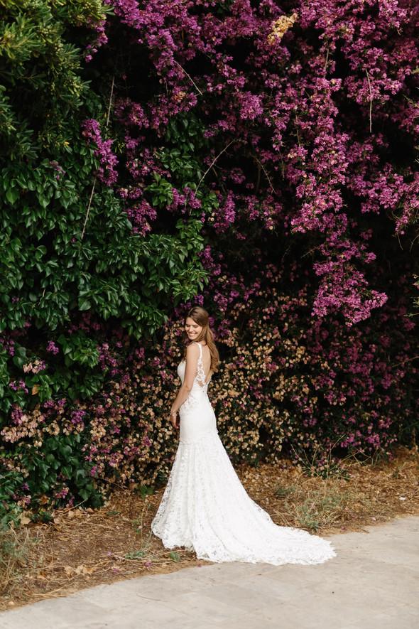 Красивая испанская свадьба на побережье - фото №85
