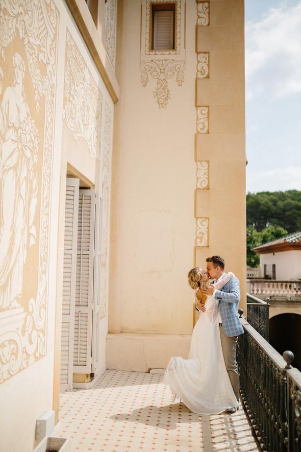 Испанская семейная свадьба на вилле недалеко от Барселоны - фото №59