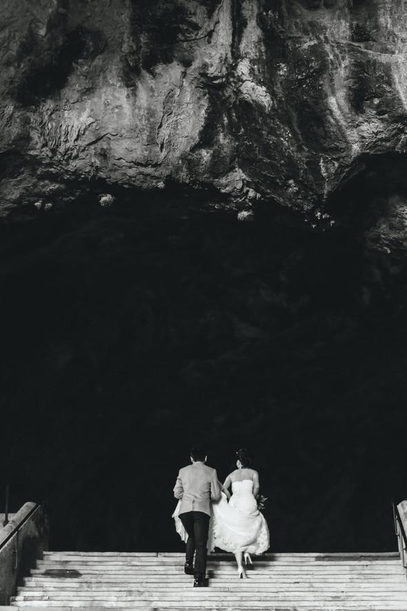 Позитивная семейная свадьба в Италии - фото №104