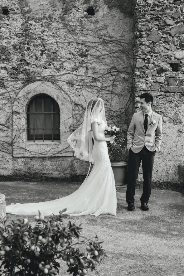 Позитивная семейная свадьба в Италии - фото №91