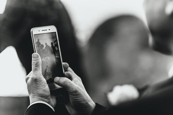 Позитивная семейная свадьба в Италии - фото №78