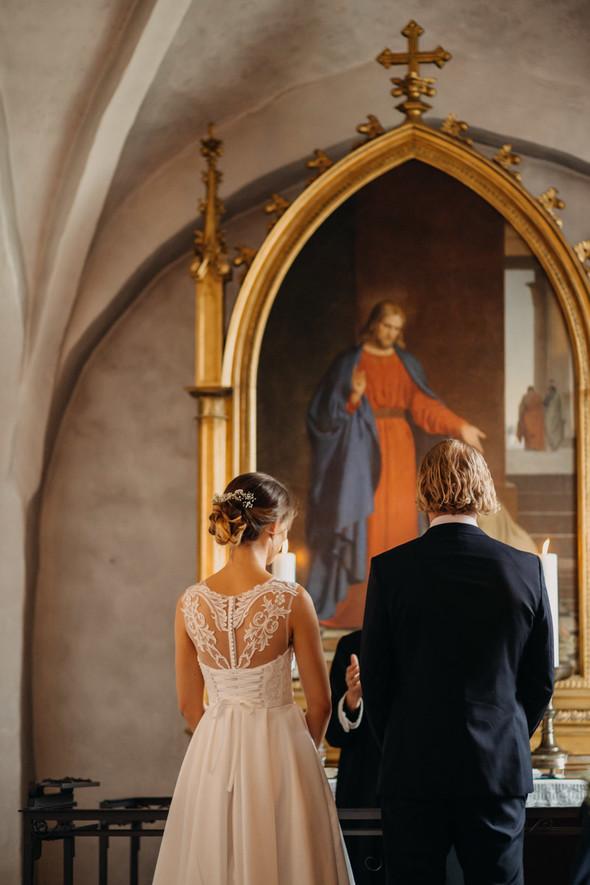 Атмосферная датская свадьба - фото №80