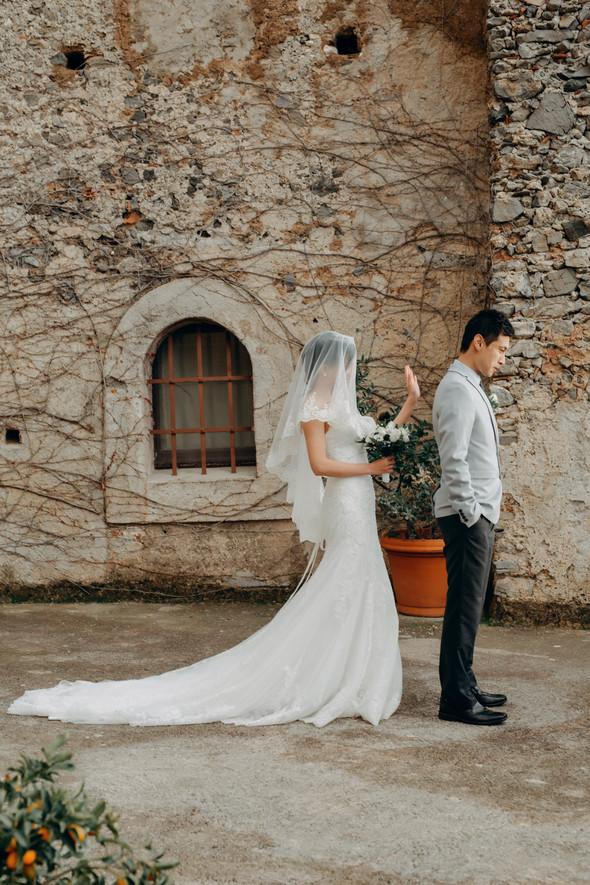 Позитивная семейная свадьба в Италии - фото №90