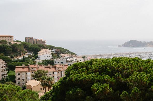 Красивая испанская свадьба на побережье - фото №19