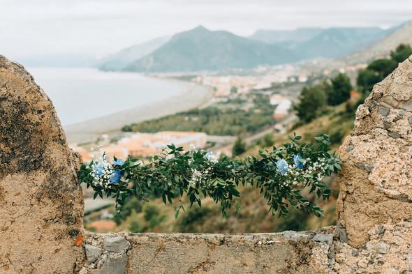 Позитивная семейная свадьба в Италии - фото №10