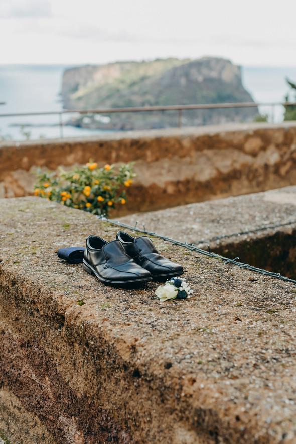 Позитивная семейная свадьба в Италии - фото №18
