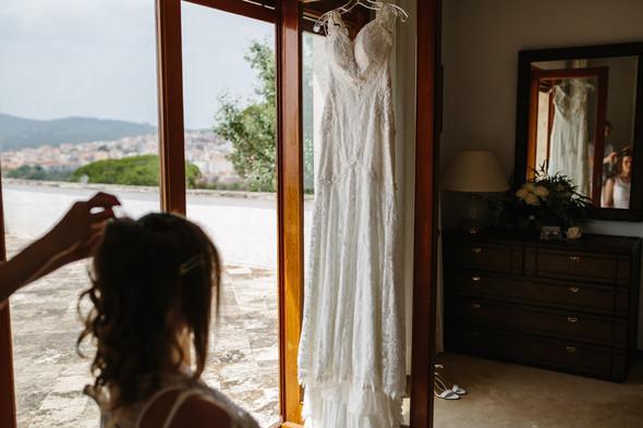 Красивая испанская свадьба на побережье - фото №14