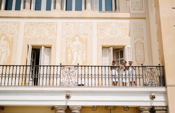 Испанская семейная свадьба на вилле недалеко от Барселоны - фото №64