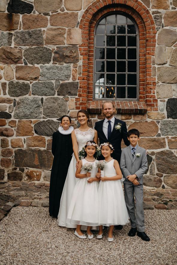 Атмосферная датская свадьба - фото №90