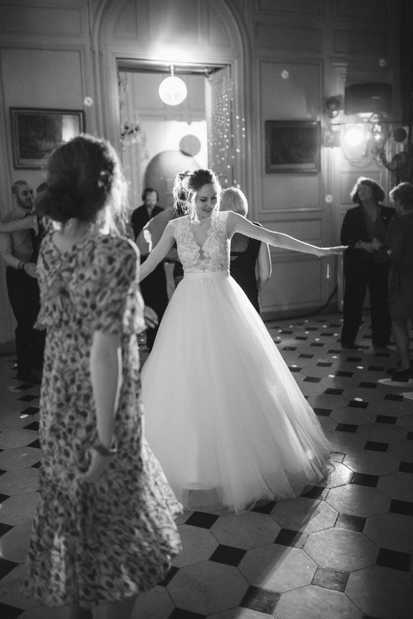 Уютная французская свадьба - фото №147