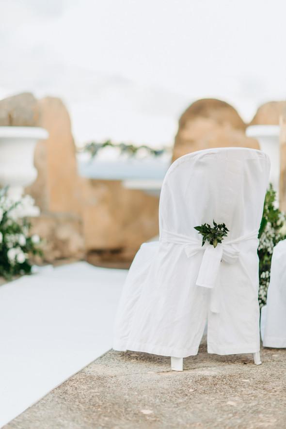 Позитивная семейная свадьба в Италии - фото №48