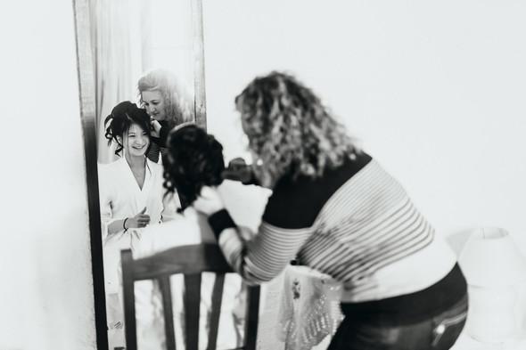 Позитивная семейная свадьба в Италии - фото №19