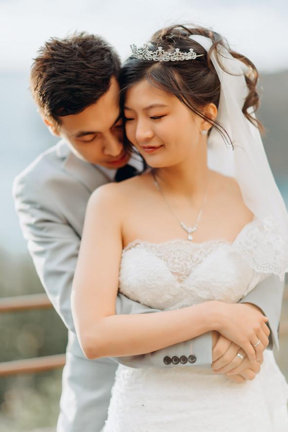 Позитивная семейная свадьба в Италии - фото №95