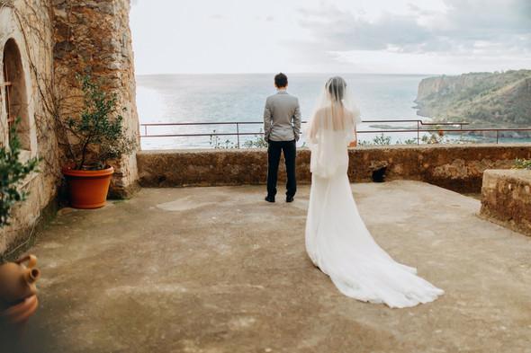Позитивная семейная свадьба в Италии - фото №88