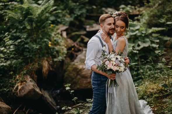 Лесная свадьба в Карпатах - фото №39