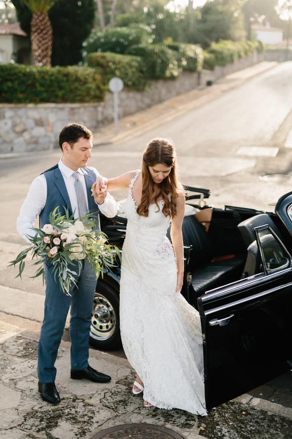 Красивая испанская свадьба на побережье - фото №74