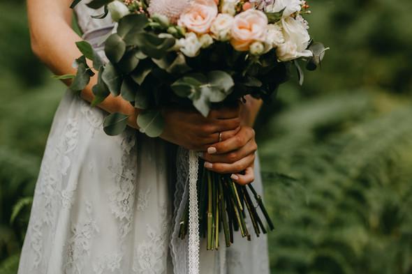 Лесная свадьба в Карпатах - фото №25