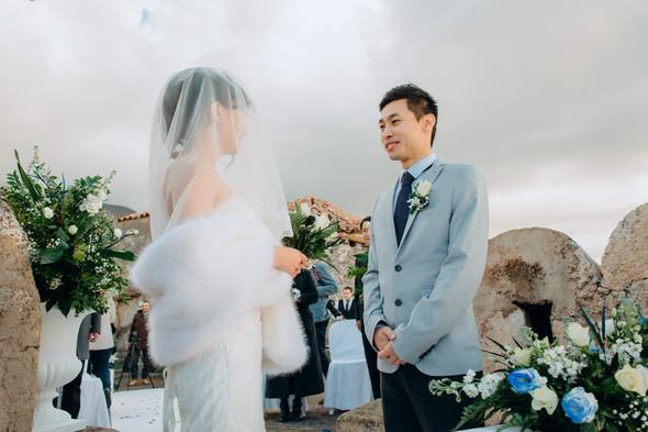 Позитивная семейная свадьба в Италии - фото №70
