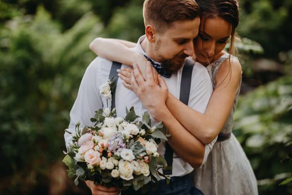 Лесная свадьба в Карпатах - фото №38