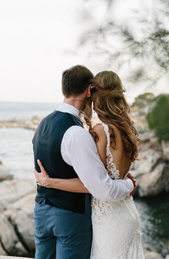 Красивая испанская свадьба на побережье - фото №80